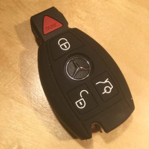 Mercedes Silicone 3 Button  Key Cover SILMER001 – Retail Price Shown Below