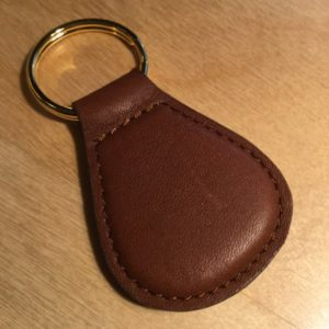 Top Grain Leather Teardrop Key Holder L0103T – Retail Price Shown Below