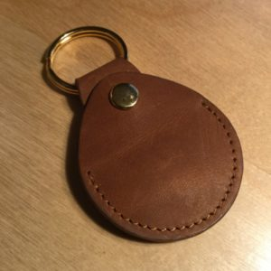 Top Grain Leather Snap Change Key Holder L0107 – Retail Price Shown Below