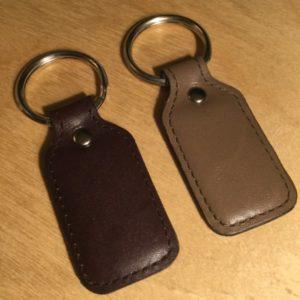 Rectangular Padded Leather Key Fob L0150T – Retail Price Shown Below