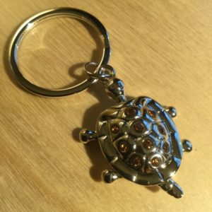Tortoise with Crystals Glitz Key Charm CH223 – Retail Price Shown Below