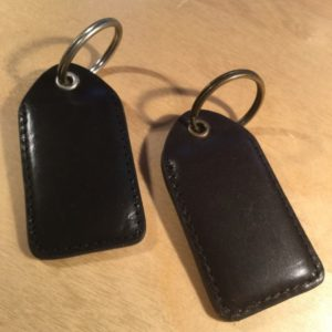 Stitched Eyelet Leather Key Fob L0106 – Retail Price Shown Below