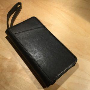 Deluxe Zip Document Passport Holder w/ I.D. Window & Strap Carry Handel L3064 – Retail Price Shown Below