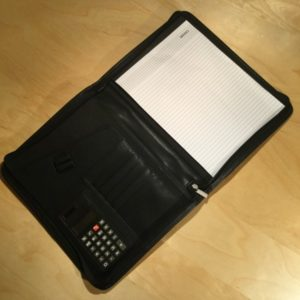 Zip Portfolio Calculator w/Handel V5032 – Retail Price Shown Below