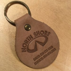Riveted Oval Key Fob L0100 – Retail Price Shown Below