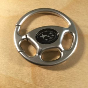 Steering Wheel Brushed Matte Silver Key Holder S8800 – Retail Price Shown Below