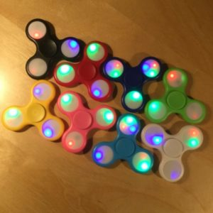 Hand Spinner w/ LED 3 Way Light Function SPINLED002 – Retail Price Shown Below