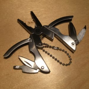 Steel Multi-Tool Plier Key Chain KN003 – Retail Price Shown Below