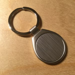 Brushed Silver Round Bottom Key Holder S7011MT – Retail Price Shown Below