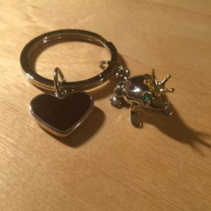 Frog Prince Glitz Key Charm CH111 – Retail Price Shown Below