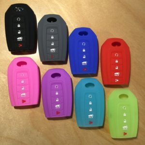 "Infiniti Silicone 5 Button ""New""  Key Cover INFSIL003 – Retail Price Shown Below"