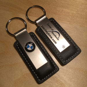 Brushed Satin Leather Key Holder SL9006 – Retail Price Shown Below